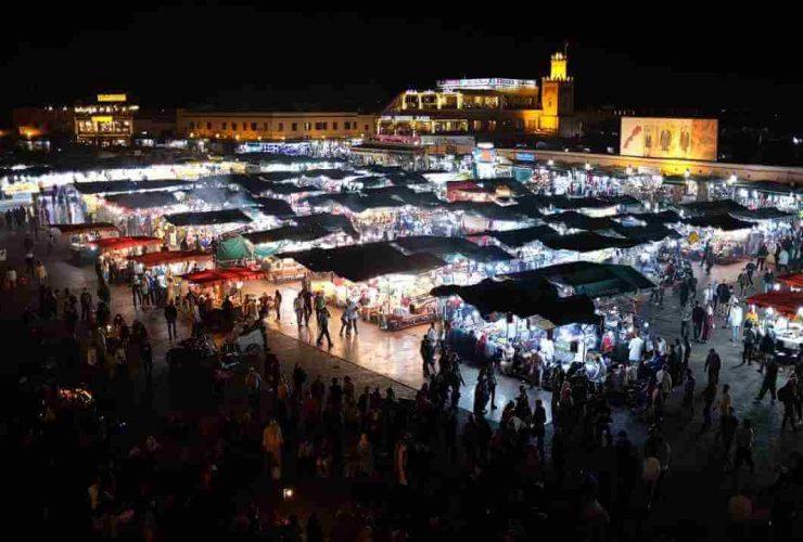 Jemâa el-Fna, marrakech