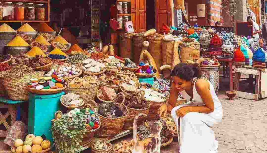 Traditional Moroccan Souks