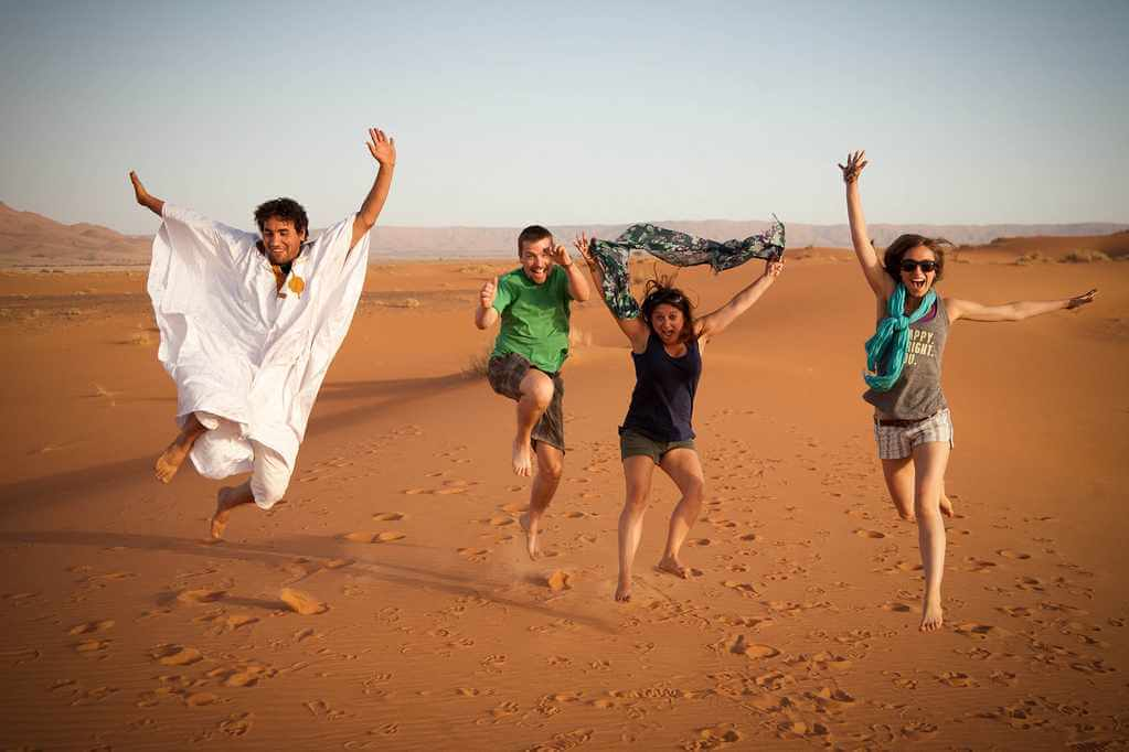 happy holiday in merzouga