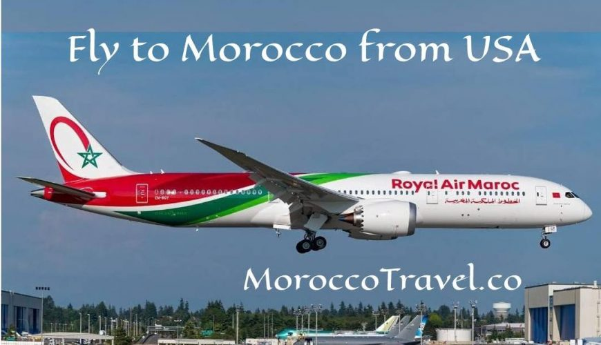Fly to Morocco from USA