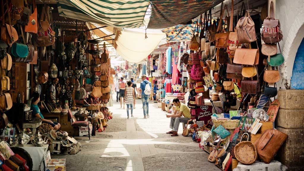 exploring traditional souks in morocco