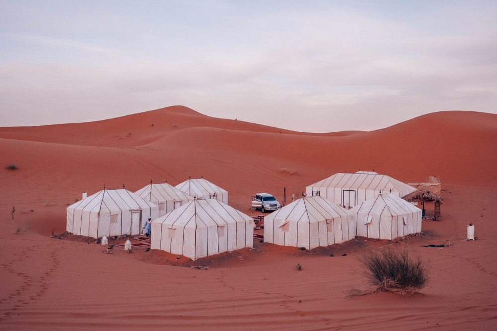 Jour 3: visite de Merzouga et balade à dos de chameau