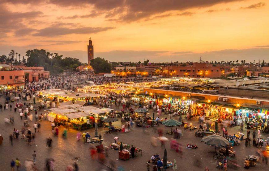 Jour 1: Arrivée à Marrakech.