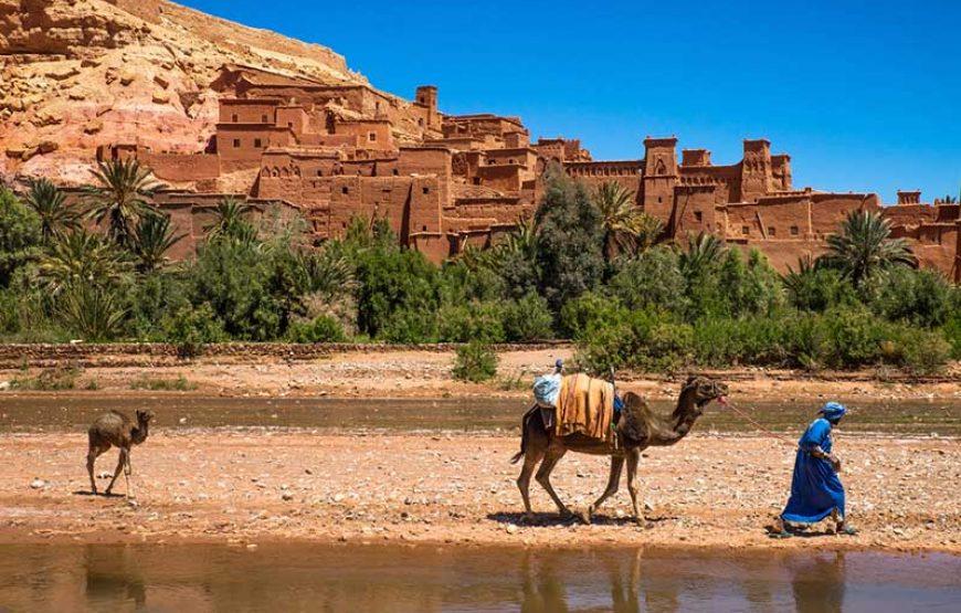 Jour 1: trek désert de Marrakech à Ait Ben Haddou et aux gorges du Dadès
