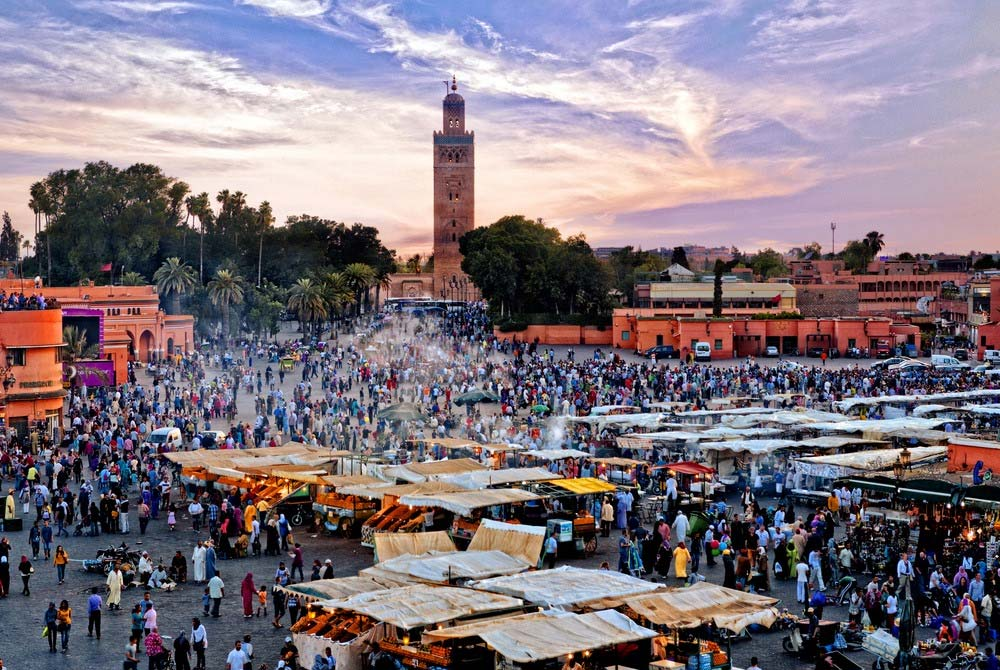 Day 8: Marrakech guided tour.