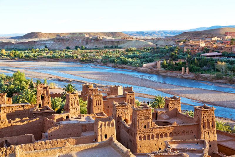 Jour 1: Trek Marrakech - Ait benhadou - Dades Valley