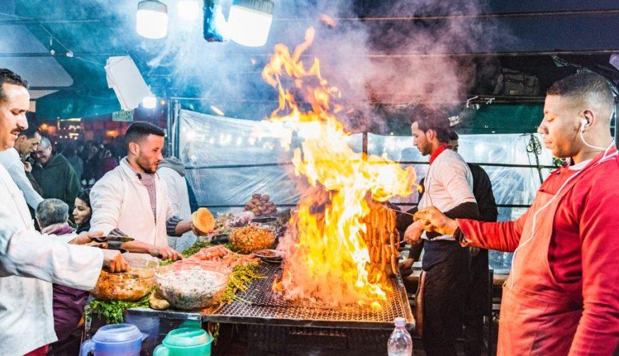 La cuisine marocaine traditionnelle gastronomie